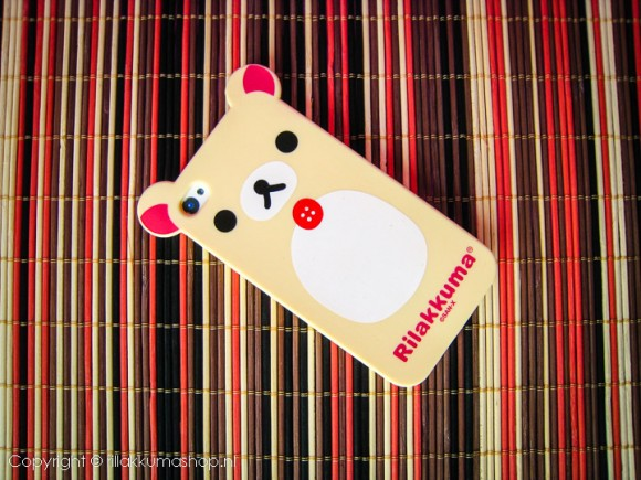Rilakkuma Silicon iPhone Cover Beige