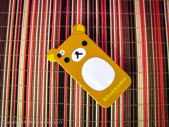 Rilakkuma Silicon iPhone Cover Brown