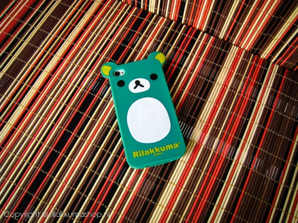 Rilakkuma Silicon iPhone Cover Green