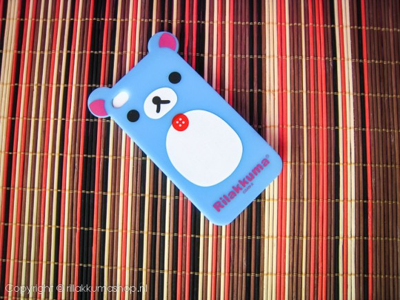 Rilakkuma Silicon iPhone Cover Light Blue