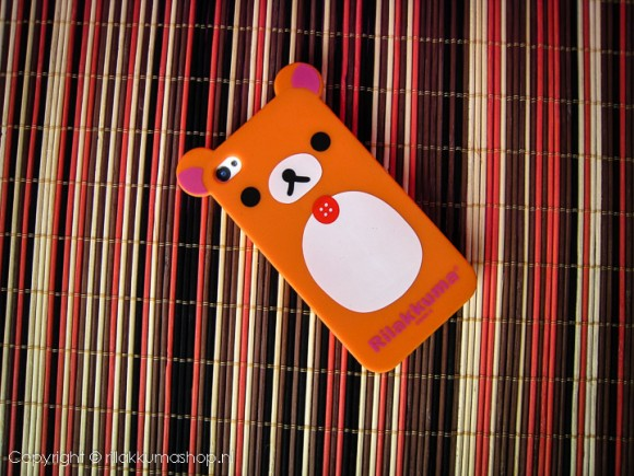 Rilakkuma Silicon iPhone Cover Orange