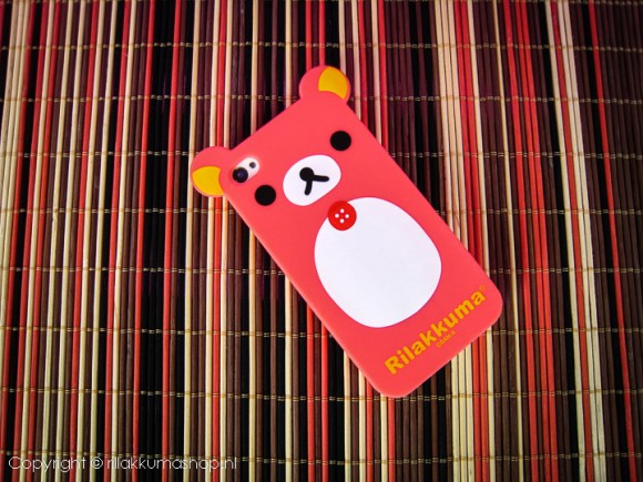 Rilakkuma Silicon iPhone Cover Rose
