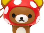 Rilakkuma Kawaii Super Cute and soft Mushroom Squishies
