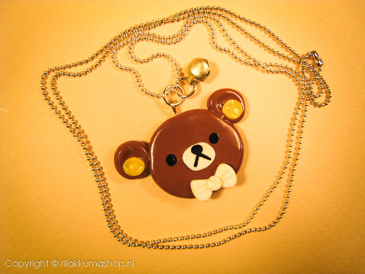 Rilakkuma pendant with ball chain