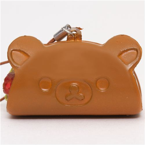 Rilakkuma Kawaii Super Cute and soft Chocolate Pastry Fruit Roll Squishies