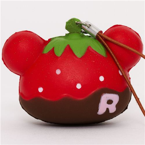 Rilakkuma Kawaii Super Cute and soft Strawberry brown Squishies