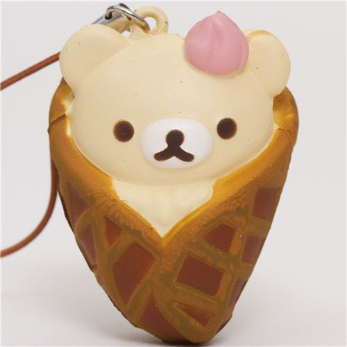 Korilakkuma Kawaii Super Cute and soft Ice Cream Squishies