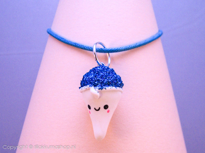 Kawaii ice cream cone op ballketting