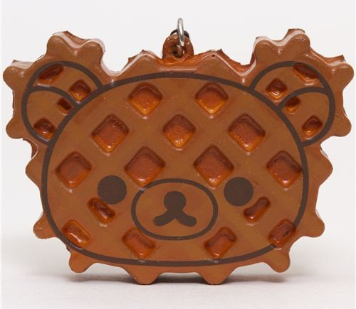 Rilakkuma Kawaii Super Cute and soft waffle Squishies