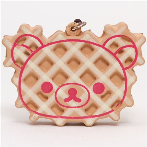 Korilakkuma Kawaii Super Cute and soft waffle Squishies