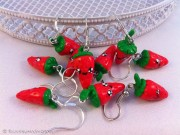 Kawaii strawberry earring