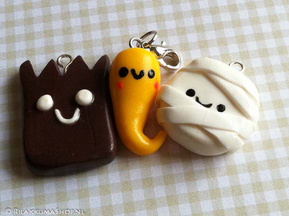 Kawaii Halloween set Charms
