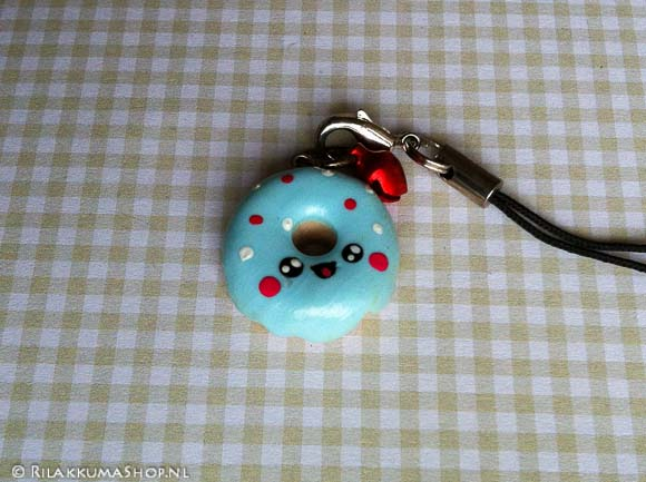 Kawaii Donut Cell Phone Straps