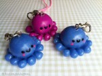 Kawaii Octopus Cell Phone Straps