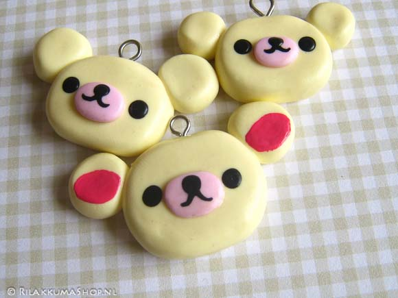 Kawaii Cute Korilakkuma Charms