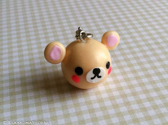 Kawaii Cute Korilakkuma 3D Charms