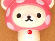 Korilakkuma Kawaii Super Cute and soft Mushroom Squishies