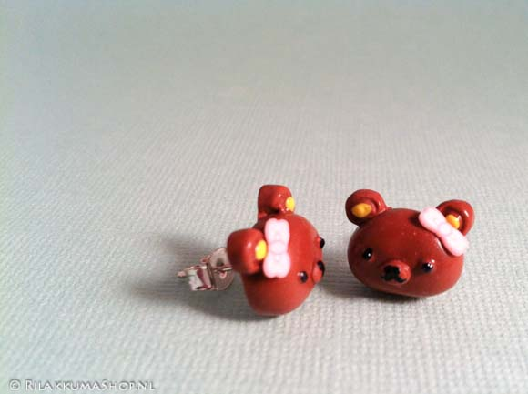 Kawaii Cute Rilakkuma earrings