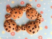 Kawaii cute Rilakkuma Chocolate chip Cookie Charms