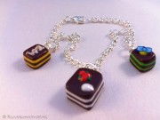 Kawaii cute Cakes bracelet
