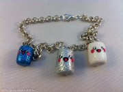 Kawaii Cute Marshmallow bracelets