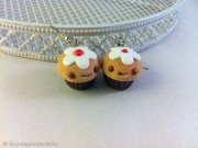 Kawaii so adorable Cupcake earrings