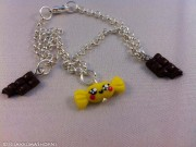 Kawaii cute Chocolate Bars Bonbons candy bracelets