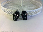Kawaii Halloween Coffin earrings