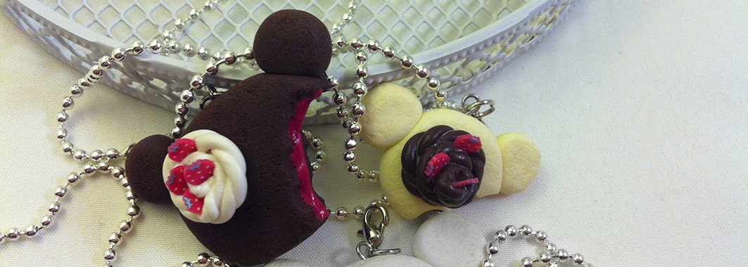 Kawaii Korilakkuma, Rilakkuma Cake with Chocolate filling necklace