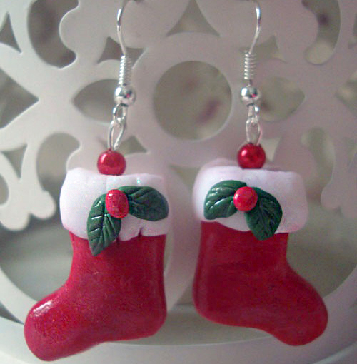 Christmas Stockings Earrings